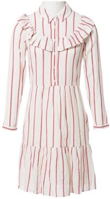 Hoss Intropia Ecru Cotton Dresses