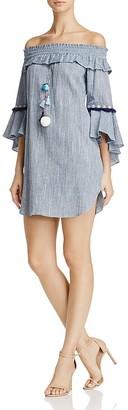 MISA Los Angeles Vanessa Off-the-Shoulder Dress $216 thestylecure.com