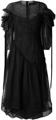 Simone Rocha frilled loose dress