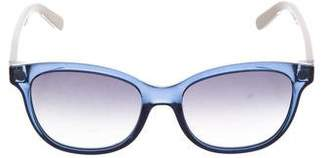 Salvatore Ferragamo Translucent Tinted Sunglasses