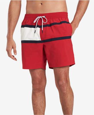 Tommy Hilfiger Men Tommy Flag Swim Trunks