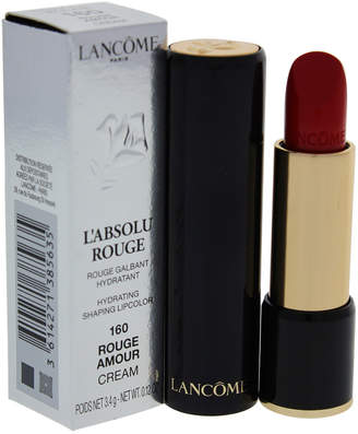 Lancôme 0.12Oz #160 Rouge Amour L'absolu Rouge Hydrating Shaping Lipcolor