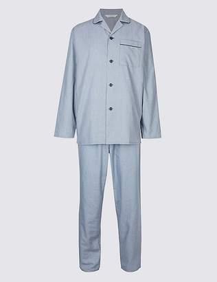 Marks and Spencer Cotton Blend Pyjama Set