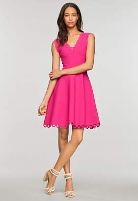 Milly Minis MillyMilly Eyelet Scallop Flare Dress