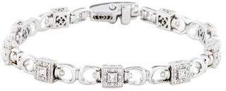 Charriol 18K Diamond Flamme Blanche Bracelet