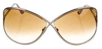 Tom Ford Miranda Oversize Sunglasses