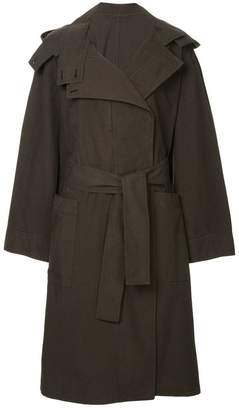 Lemaire oversized hooded coat