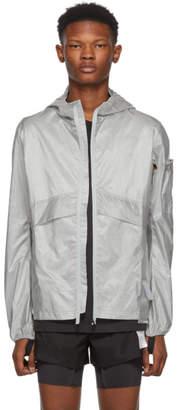 Satisfy Silver Packable Windbreaker Jacket
