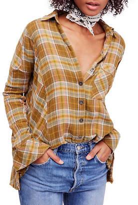 Free People Juniper Ridge Cotton Button-Down Shirt