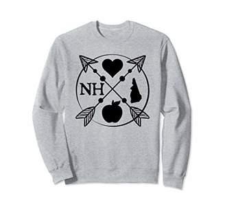 New Hampshire Teacher Sweatshirt - Arrow Home State Gift