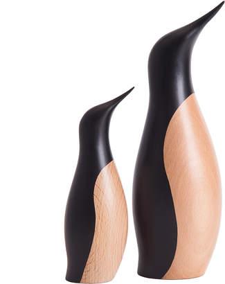 Original Penguin Architectmade Beech Wood Penguin Models (Set of 2)
