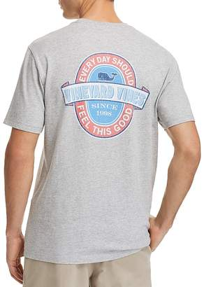 Vineyard Vines Every Day Logo Crewneck Tee