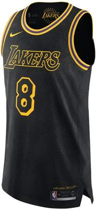 Nike Kobe Bryant City Edition Authentic (Los Angeles Lakers) Men's NBA Connected Jersey
