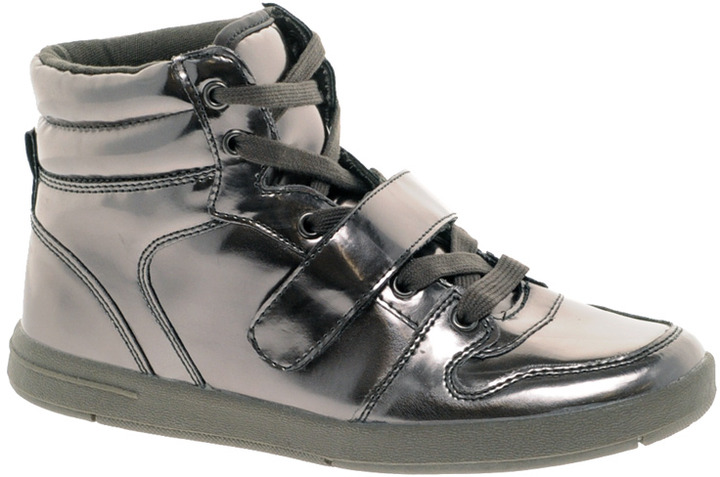 Miss KG Lakeside Metallic High Top Trainers