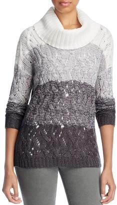 Design History Color-Block Turtleneck Sweater $118 thestylecure.com