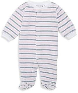 Kissy Kissy Baby Girl's Winter Mix Cotton Footie