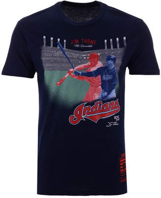 Mitchell & Ness Men's Jim Thome Cleveland Indians Hall Of Fame Signature T-Shirt