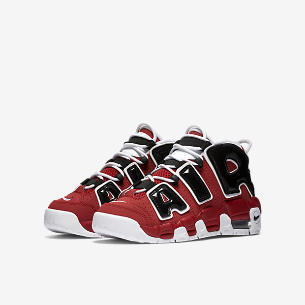 Nike Air More Uptempo Little/Big Kids' Shoe 13