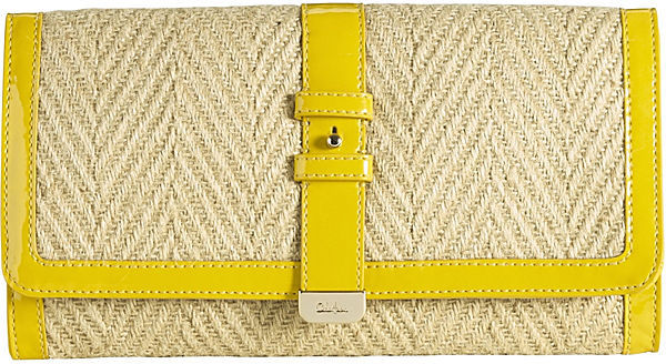 Cole Haan Highline Straw Izzie Large Clutch