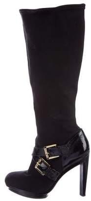 MICHAEL Michael Kors Neoprene Mid-Calf Boots