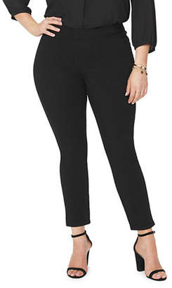 NYDJ Plus Pull-On Ankle Pants