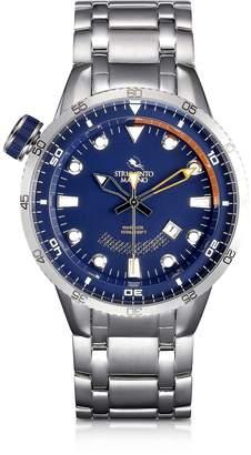 Strumento Marino Warrior Stainless Steel Men's Watch w/Blue Dial