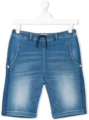 John Galliano TEEN washed denim shorts