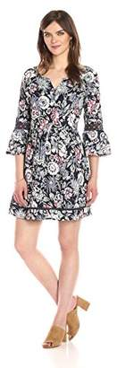 Ella Moon Women's Louella 3/4 Sleeve Sheath Dress