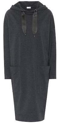 Brunello Cucinelli Stretch-cotton sweater dress