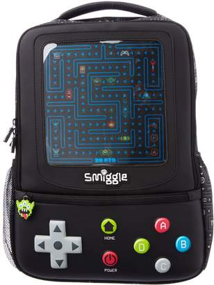 Smiggle Game Over Backpack