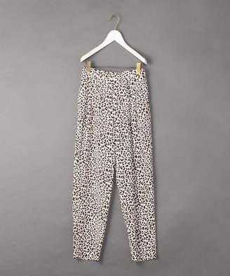 [6(ROKU)]LEOPARD PRINT PANTS/パンツ