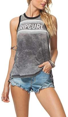 Rip Curl Women's Wave Warrior Ringer Graphic Tank