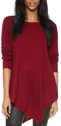 Joie Tambrel Deep-Scarlet Sweater