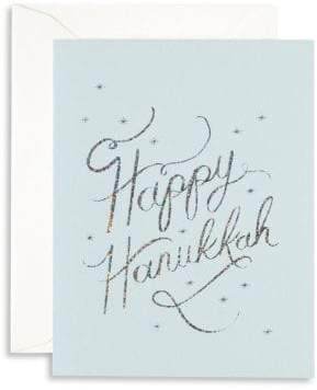 Rifle Paper Co. Boxed Happy Hanukkah Eight-Pack Card Set