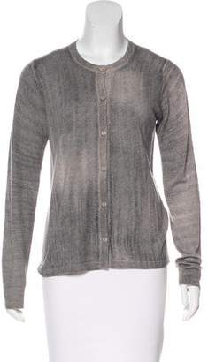 Bruno Manetti Distressed Cashmere Cardigan