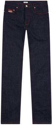 Kenzo Roll Up Tapered Jeans