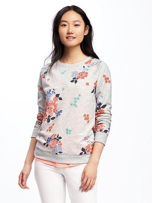 Relaxed Vintage Fleece Sweatshirt for Women $26.94 thestylecure.com