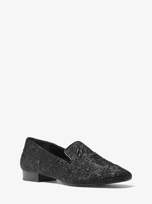Michael Kors Roxanne Floral Brocade Loafer