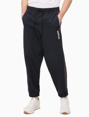 Calvin Klein colorblock woven jogger sweatpants