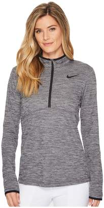 Nike Dry Top 1/2 Zip Left Chest Women's Clothing
