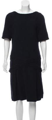 Chanel Paris-Bombay Wool Dress