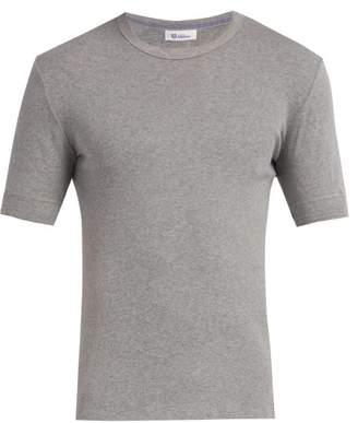 Schiesser Karl Heinz Grey Cotton Melange T Shirt - Mens - Grey