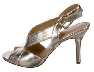 MICHAEL Michael Kors Metallic Cutout Sandals