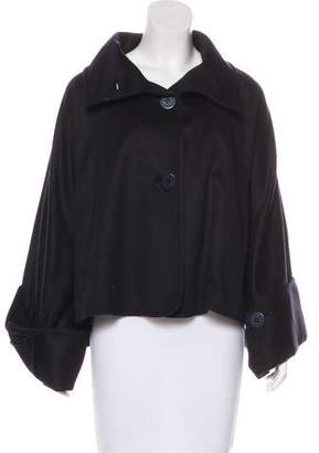 Stella McCartney Wool & Cashmere Button-Up Cape w/ Tags