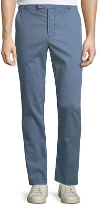 ATM Anthony Thomas Melillo Pigment Enzyme Washed Cotton-Stretch Slim-Straight Pants