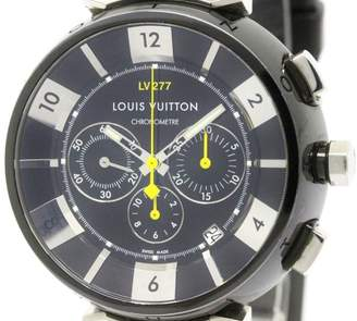 Louis Vuitton Tambour Q114K Stainless Steel Automatic 44mm Mens Watch