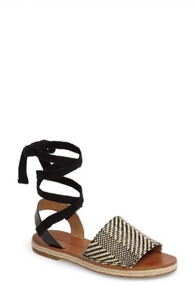 Women's Lucky Brand Daytah Ankle Tie Sandal $78.95 thestylecure.com