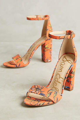 Sam Edelman Yaro Heeled Sandals $118 thestylecure.com