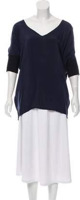 MM6 MAISON MARGIELA Oversize Short Sleeve Top