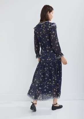 Etoile Isabel Marant Eina Printed Dress